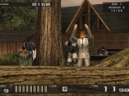 Time Crisis II (PS2)  © Namco 2001   1/5