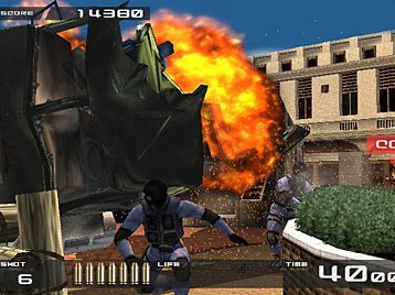 Time Crisis II (PS2)  © Namco 2001   4/5