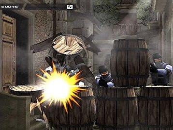 Time Crisis II (PS2)  © Namco 2001   5/5