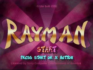 Rayman (PS1)  © Ubisoft 1995   10/19