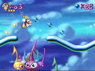 Rayman (PS1)  © Ubisoft 1995   6/19