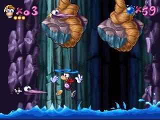 Rayman (PS1)  © Ubisoft 1995   4/19