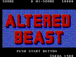 Altered Beast (SMS)  © Sega 1989   1/3