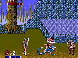 Golden Axe (SMS)  © Sega 1989   3/3