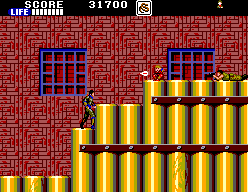 Shinobi (SMS)  © Sega 1988   7/9