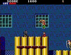 Shinobi (SMS)  © Sega 1988   8/9