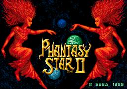 Phantasy Star II (SMD)  © Sega 1989   1/3