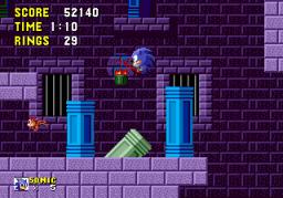 Sonic The Hedgehog (SMD)  © Sega 1991   2/4