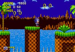 Sonic The Hedgehog (SMD)  © Sega 1991   3/4