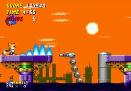 Sonic The Hedgehog 2 (SMD)  © Sega 1992   2/4