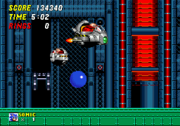 Sonic The Hedgehog 2 (SMD)  © Sega 1992   3/4