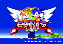 Sonic The Hedgehog 2 (SMD)  © Sega 1992   1/4