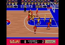 Super Real Basketball (SMD)  © Sega 1990   2/3