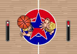 Super Real Basketball (SMD)  © Sega 1990   3/3
