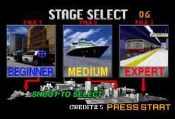 Virtua Cop 2 (SS)  © Sega 1996   2/9