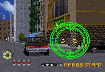 Virtua Cop 2 (SS)  © Sega 1996   4/9