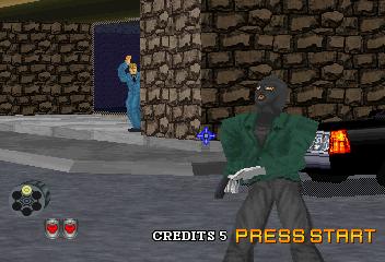 Virtua Cop 2 (SS)  © Sega 1996   5/9