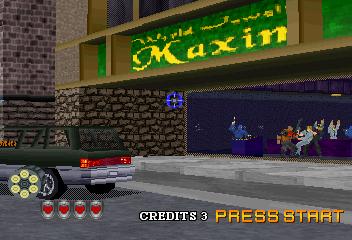 Virtua Cop 2 (SS)  © Sega 1996   6/9