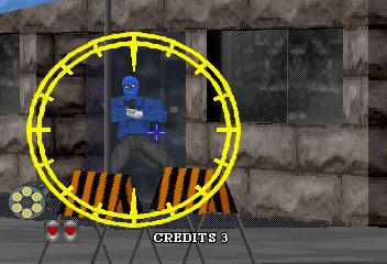 Virtua Cop 2 (SS)  © Sega 1996   7/9