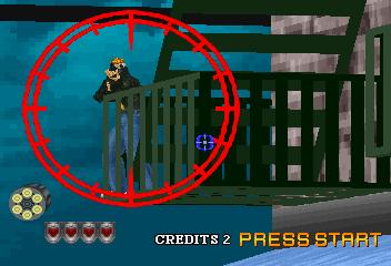 Virtua Cop 2 (SS)  © Sega 1996   8/9