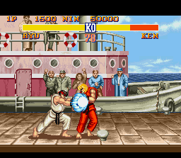 Street Fighter II (SNES)  © Capcom 1992   3/3