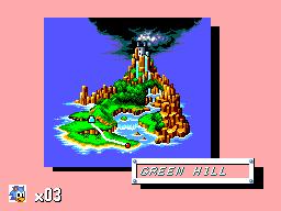 Sonic The Hedgehog (SMS)  © Sega 1991   2/12
