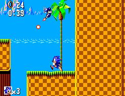Sonic The Hedgehog (SMS)  © Sega 1991   3/12