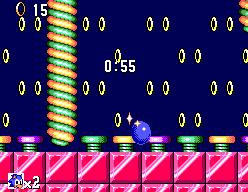 Sonic The Hedgehog (SMS)  © Sega 1991   6/12