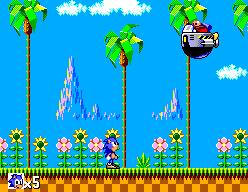 Sonic The Hedgehog (SMS)  © Sega 1991   8/12