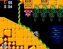 Sonic The Hedgehog (SMS)  © Sega 1991   9/12