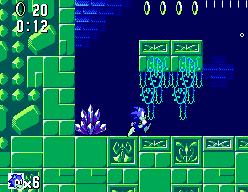 Sonic The Hedgehog (SMS)  © Sega 1991   10/12