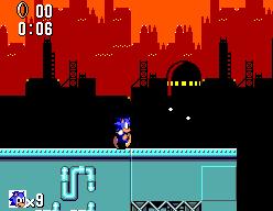 Sonic The Hedgehog (SMS)  © Sega 1991   11/12