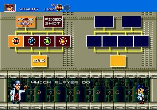 Gunstar Heroes (SMD)  © Sega 1993   4/6