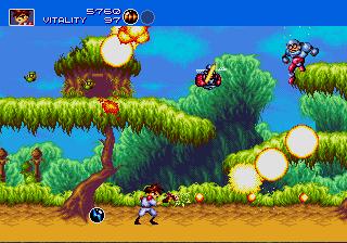 Gunstar Heroes (SMD)  © Sega 1993   5/6