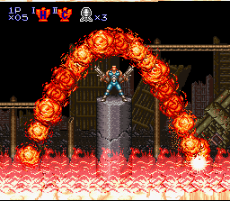 Contra III: The Alien Wars (SNES)   © Konami 1992    3/8