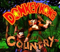 Donkey Kong Country (SNES)  © Nintendo 1994   1/6