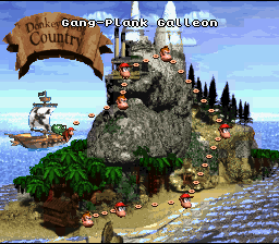 Donkey Kong Country (SNES)  © Nintendo 1994   2/6