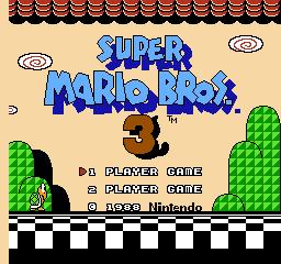 Super Mario Bros. 3 (NES)  © Nintendo 1988   1/40