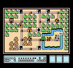 Super Mario Bros. 3 (NES)  © Nintendo 1988   2/40