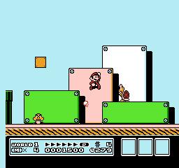 Super Mario Bros. 3 (NES)  © Nintendo 1988   3/40