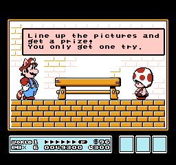 Super Mario Bros. 3 (NES)  © Nintendo 1988   8/40