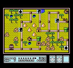 Super Mario Bros. 3 (NES)  © Nintendo 1988   17/40