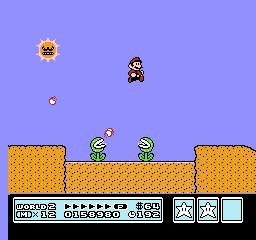 Super Mario Bros. 3 (NES)  © Nintendo 1988   22/40