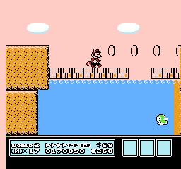 Super Mario Bros. 3 (NES)  © Nintendo 1988   23/40
