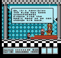 Super Mario Bros. 3 (NES)  © Nintendo 1988   27/40