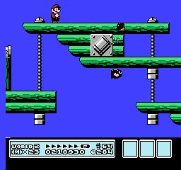 Super Mario Bros. 3 (NES)  © Nintendo 1988   28/40