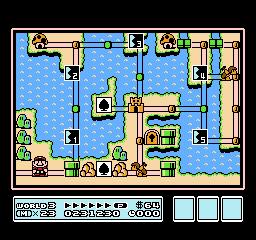 Super Mario Bros. 3 (NES)  © Nintendo 1988   30/40