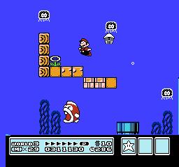 Super Mario Bros. 3 (NES)  © Nintendo 1988   37/40