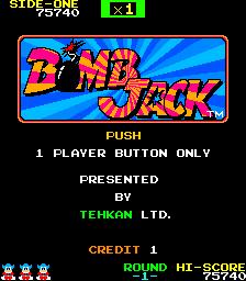 Bomb Jack  © Tecmo 1984  (ARC)   1/4