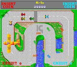 Wheels Runner (ARC)  © International Games 1988   2/5